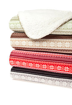 Home Accents® Fair Isle Throw