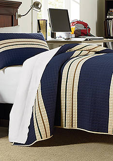 Home Accents® Rugby Stripe Quilt