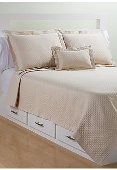 Lamont Home Diamante Matelasse Coverlet Collection