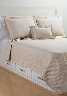 Diamante Matelasse Coverlet Collection