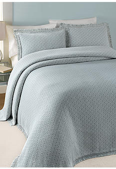 Lamont Home Elena Blue Bedspread Collection