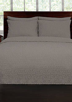 Lamont Home RIVERBED TWIN COVERLET GREY