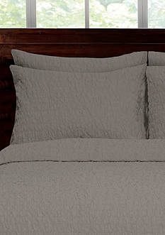 Lamont Home RIVERBED KING SHAM GREY