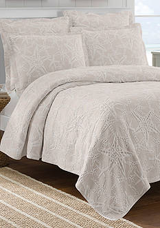 Lamont Home Calypso Taupe Full/Queen Coverlet