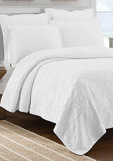 Lamont Home Calypso White Full/Queen Coverlet