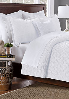 Lamont Home Tarja White Twin Coverlet