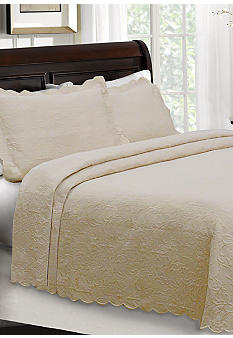 Lamont Home Majestic Matelasse Coverlet Collection