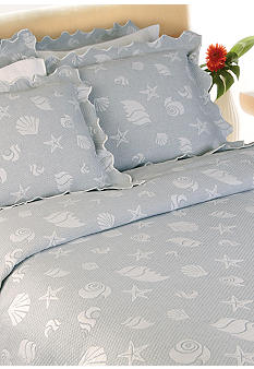 Lamont Home Sea Spray Coverlet