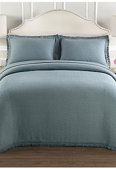 Lamont Home Valencia Blue Bedspread Collection