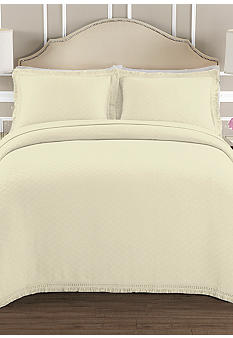Lamont Home Valencia Ivory Bedspread Collection