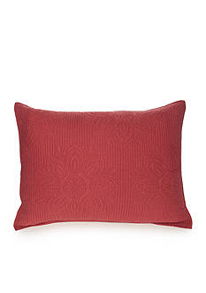 Home Accents Casual Living Mandala Nantucket Red Standard Sham