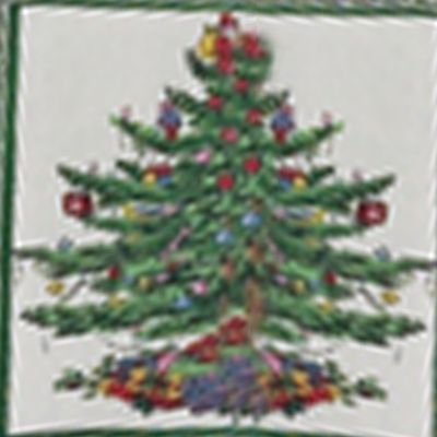 Christmas Shop: Green Spode SPODE XMAS TREE KT