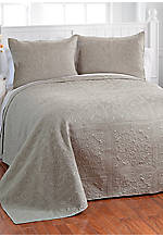 Tin Ceiling Sage Twin Coverlet 68-in. x 90-in.