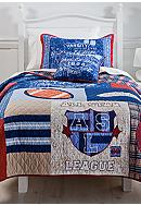 J Khaki™ American League Quilt Collection