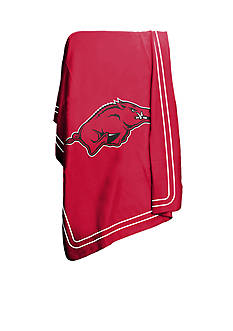 Logo University of Arkansas Razorbacks Classic Fleece Blanket