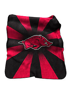 Logo Arkansas Razorbacks Raschel Throw