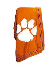 Logo Clemson Tigers Classic Fleece Blanket
