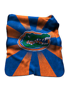 Logo Florida Gators Raschel Throw