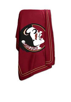 Logo Florida State Seminoles Classic Fleece Blanket