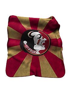 Logo Florida State Seminoles Raschel Throw