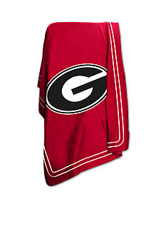 Logo Georgia Bulldogs Classic Fleece Blanket