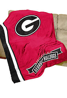 Logo Georgia UltraSoft Blanket