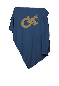 Logo Georgia Tech Sweatshirt Blanket