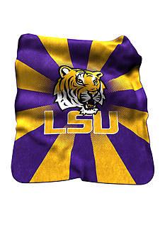 Logo LSU Tigers Raschel Throw