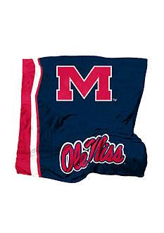 Logo Ole Miss Rebels UltraSoft Blanket