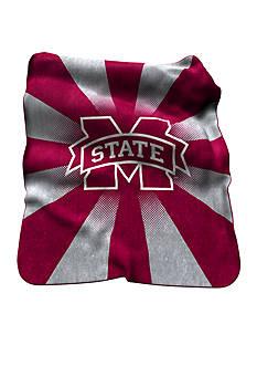 Mississippi State Bulldogs Raschel Throw
