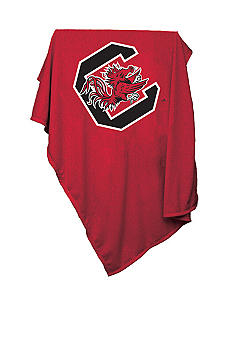 Logo South Carolina Sweatshirt Blanket