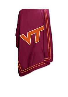 Logo Virginia Tech Hokies Classic Fleece Blanket