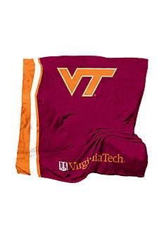 Logo Virginia Tech Hokies UltraSoft Blanket