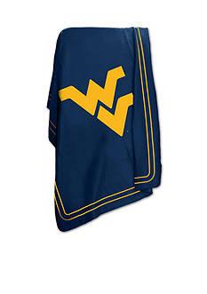 Logo West Virginia Mountaineers Classic Fleece Blanket