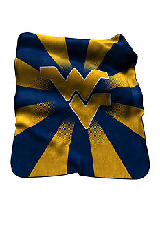 Logo West Virginia Mountaineers Raschel Throw