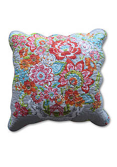 Ivy Hill Home BLISSFUL BOUQ 18X18 PILLOW