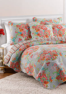 Ivy Hill Home BLISSFUL BOUQ KING QUILT