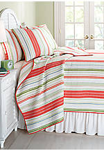Hutton Multicolored King Quilt 106-in. x 92-in.