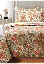 Out to Sea Multicolored Standard Sham 20-in. x 26-in.