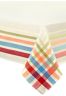 Fiesta Plaid Table Linens