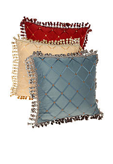 Biltmore For Your Home Diamond Jacquard Decorative Pillow