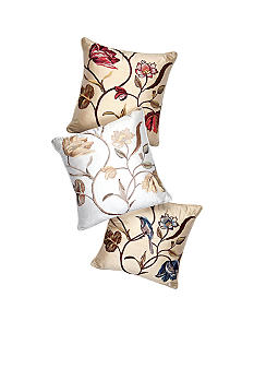 Biltmore For Your Home Embroidered Silk Decorative Pillow