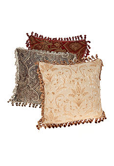 Biltmore For Your Home Damask Jacquard Decorative Pillow