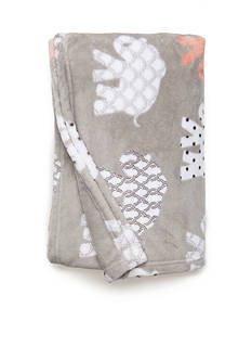 Best in Class Gray Elephants Throw