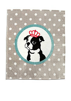 Best in Class Beatrix Gray Throw