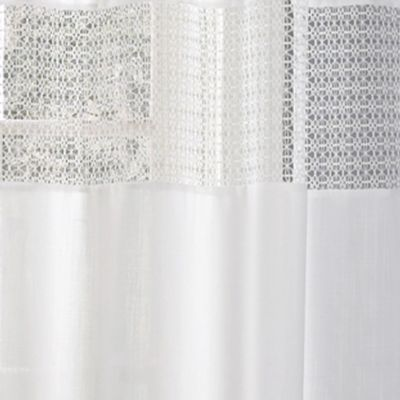 Discount Window Treatments: White Laura Ashley LASHBELLEIVY84