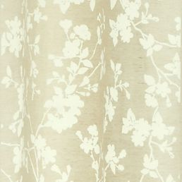 Patterned Curtains: Ivory Laura Ashley LAURA ASHLEY ROTHBURY PANEL PAIR IVORY