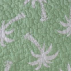 Coastal Bedroom: Green Panama Jack PJ P BCH T QLT GREEN