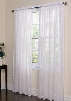 Commonwealth Home Fashions HATHAWAY TLRD PNL WHITE 84IN
