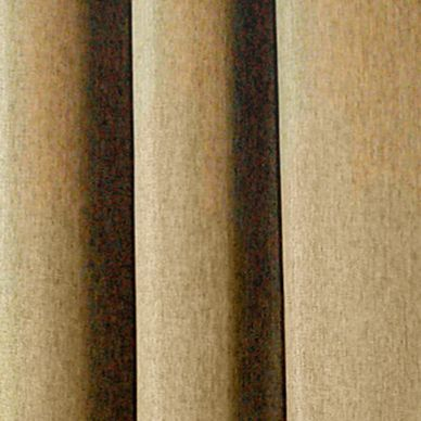 Solid Curtains: Toasted Almond Commonwealth Home Fashions HARRISON GRMMT PNL MERCURY 84IN